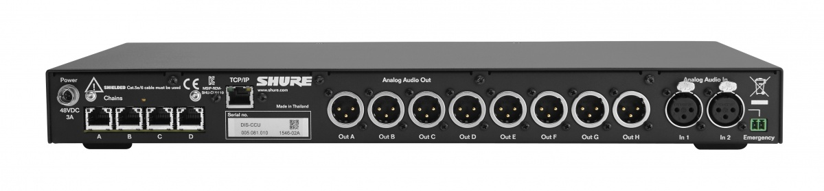 SHURE DIS-CCU Central Control Unit